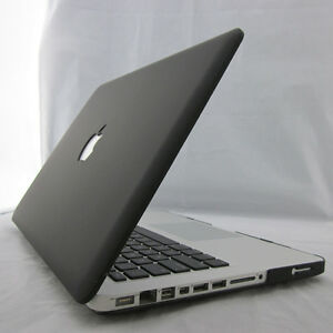 "Black Matte Rubberized Hard Case Cover for 2020 Macbook Air Pro 11"" 12"" 13"" 15"""
