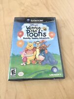 Winnie The Pooh's Rumbly Tumbly Adventure Disney New Sealed Gamecube GC Rare