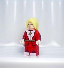 A1124 Lego CUSTOM PRINTED DC Comic Clash Justice League SATURN GIRL MINIFIG