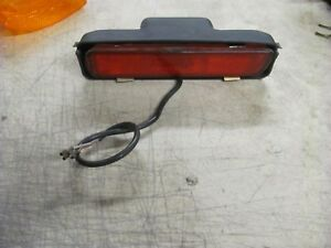 PORSCHE 944 951 TURBO REAR LH LEFT DRIVER SIDE MARKER LIGHT LENS W/ HOUSING