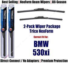 2pk Super-Premium NeoForm Wipers fit 2006-2007 BMW 530xi - 162414/2314