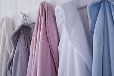 Microfiber Solid Pattern Bath Towels