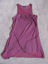 H&M 100 % Cotton Burgundy Dress, size S
