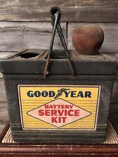 Vintage Goodyear Battery Testing Kit Service Station