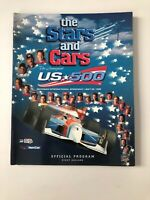 Program Indy Car Race US 500 INAUGURAL 1996 Michigan Intl Speedway w/lineup