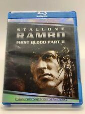 Rambo First Blood Part II (Blu-Ray) Brand New/Sealed Movie