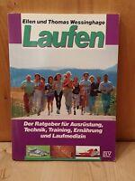 Laufen Ratgeber Ellen u. Thomas Wessinghage BLV 1991 167 Seiten