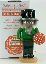 "Steinbach German Wooden Nutcracker Chubby ""Irish� S1345 New"