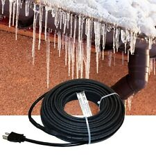 120V 100 foot pre-assembled self regulating roof and gutter heat cable kit