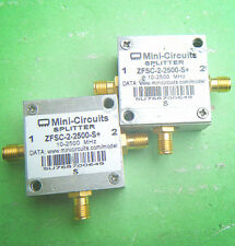 1pc Mini-Circuits Zfsc-2-2500-S+ 10-2500Mhz Splitters