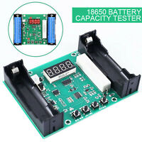 Battery Capacity Tester For 18650 Lithium Discharge Energy Meter Testing