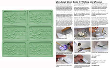Olive Oil Branch Soap Mold Melt & Pour Cold Process Pvc Milky Way W instructions