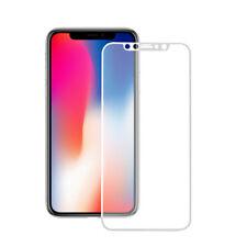 Para Apple iPhone Cubierta Completa curvada 3D Blanco X Protector de Pantalla de Vidrio Templado Reino Unido