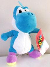 XLarge 15'' Blue Yoshi. Super Mario Brothers Plush Nintendo Toy. NWT. Licensed