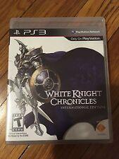White Knight Chronicles International Edition(Sony PlayStation 3, 2010)No manual