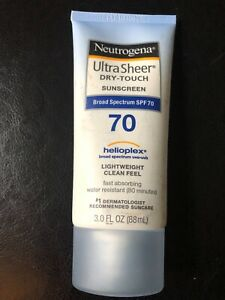 Neutrogena Ultra Sheer Dry-Touch Sunscreen SPF 70