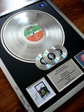 LED ZEPPELIN IV FOUR SYMBOLS LP MULTI PLATINUM DISC RECORD AWARD ALBUM