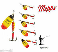 Mepps Aglia Furia Variety Sizes  !!!               PERCH , ESOX, CHUB , TROUT