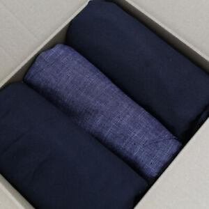 2,58kg Restpaket Hosenstoff Baumwolle und mittelschwerer Jeans Hosen Jacke Rock