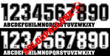 kit nome + numero flock x maglia atalanta 96-97-98-99 asics nero o bianco