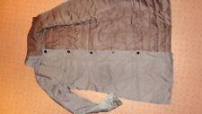Kenneth Cole Feather Down Jacket Coat S UK 8 - 10 Golden Beige Reversable