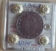 REPUBBLICA ITALIANA 50 LIRE 1967 sigillata qFDC NUMISMATICA SUBALPINA