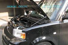 03-07 Scion xB MK1 Black Strut Gas Lift Hood Shock Stainless Steel Damper Kit