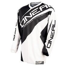 ONeal Element Jersey Trikot Schwarz Weiß Motocross Mountain Bike MTB Quad Enduro