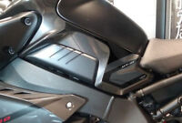 2 ADESIVI gel 3D PROTEZIONI LATERALI SERBATOIO compatibili per MOTO YAMAHA MT-10