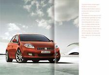 Fiat Bravo Specification 2007-08 UK Market Brochure Active Sport Dynamic