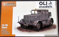 1/72 Hanomag SS-100 GIGANT German Heavy Tractor - Special Hobby Armour 172001