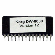 Korg DW-8000 Version 12 firmware OS update upgrade EPROM DW8000
