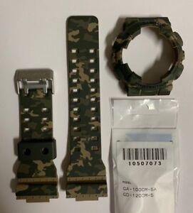 CASIO G-Shock  Band GA-100CM-5A GD-120CM-5 Camouflage  & Bezel  GA100CM