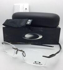 OAKLEY Titanium Eyeglasses WINGFOLD EVR OX5118-0153 Rimless Satin Pewter Frames