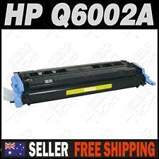 1x Yellow Toner for HP Q6002A Colour Laserjet 1600 2600 2600n CM1015 CM1017
