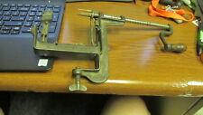 Vintage Mechanical Apple Pealer table mount Pat. June 14, 1881 Cast Iron