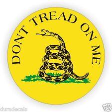Gadsden Flag Dont Tread On Me Hard Hat Sticker USMC Helmet Decal Label USA