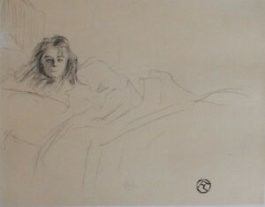 TOULOUSE-LAUTREC: Mademoiselle Popo - Engraving Signed #1951 #1000ex