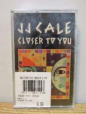 JJ CALE CLOSER TO YOU AUDIO CASSETTE TAPE