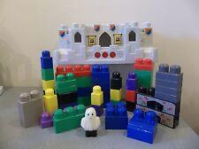 Megabloks 50pc  Mega bloks Blocks toddler building toy castle w/ sounds ghost