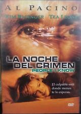 La Noche Del Crimen (People I Know) [Region 1 & 4] (2002) (DVD)