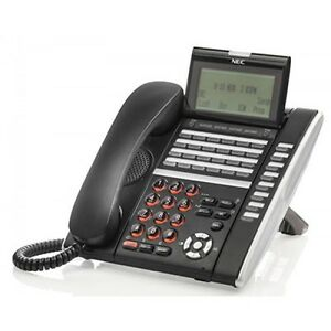 NEC ITZ-32D-3(BK)TEL IZV(XD)W-3Y(BK) 660134 IP Phone Refurbished 1 Year Warranty