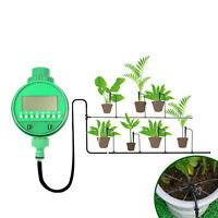 Electronic Home Water Timer Garden Irrigation System Controller Water Program US