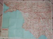 CARTA PIEGHEVOLE SALERNO E LA SUA PROVINCIA Scala 1:150000 Turismo Geografia