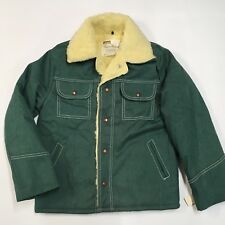 NWT Vintage Montgomery Ward DENIM Classic SHERPA-LINED Trucker Jacket Boys 12