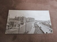 1920s fr Sussex Postcard - central parade - Bexhill-on-sea
