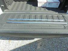 1968 - 1969 Barracuda Outside Top of Door Chrome Trim Moldings 67 68 69 Cuda