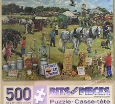 New Bits and Pieces Puzzle - The Country Show Trevor Mitchell - 500 Pieces