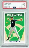 Derek Jeter 1993 Topps Rookie PSA 9! Yankees Hall of Famer