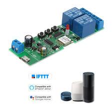 Sonoff Smart Wifi Switch Universal Module 2CH USB DC5V/7-32V Wireless N8I2